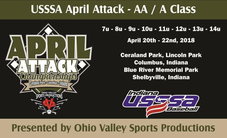 USSSA   Event: USSSA April Attack NIT - AA / A Class